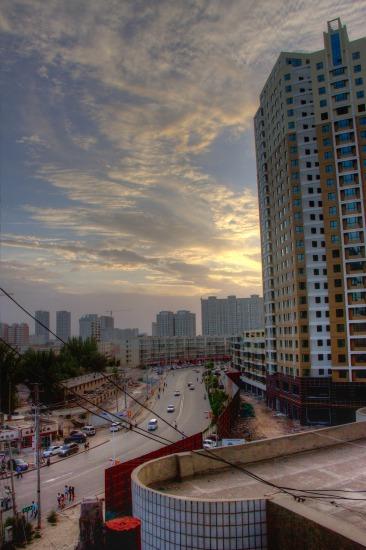 20120807アクスの宿からの景色